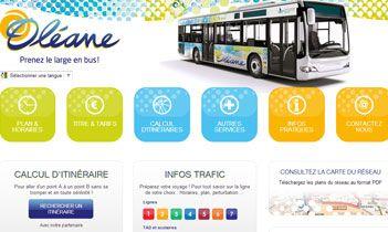 Bus Oleane Website