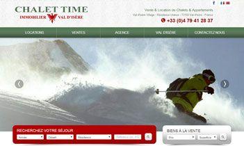 Chalet Time Website