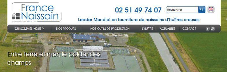 France Naissain Website