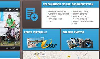 Camping Le Chaponnet Website