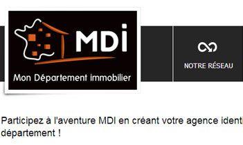 Mon département immobilier Website