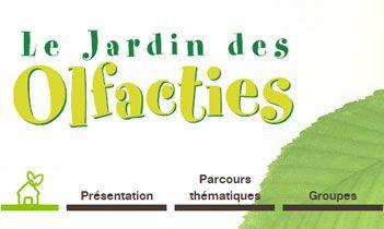 Le jardin des Olfacties Website