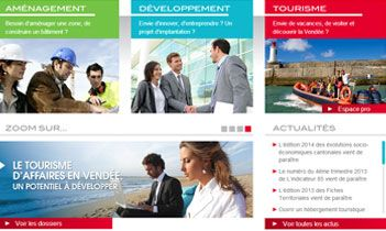 Vendée Expansion Website