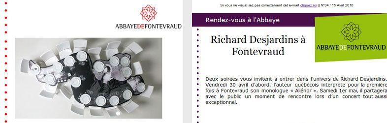 Fontevraud Newsletter