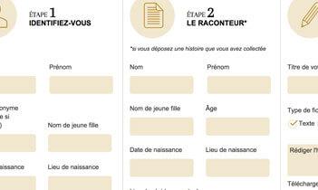 Le grandR - Histoires vraies de Vendée Website