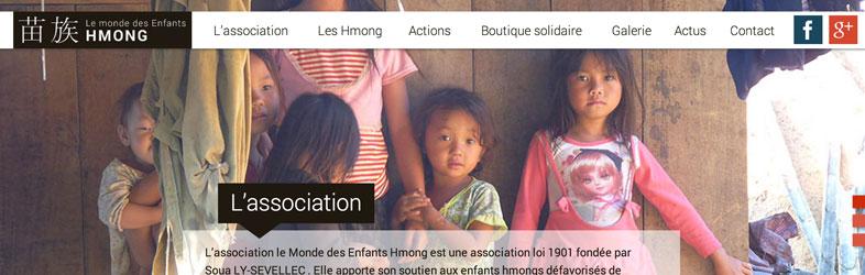 Le monde des Enfants Hmong Website