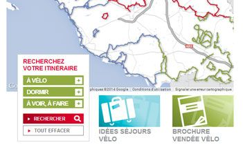 Vendée Vélo Website