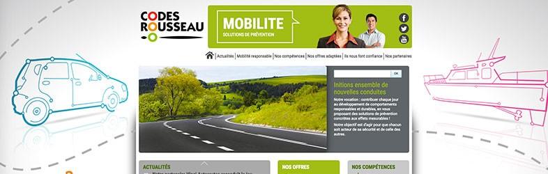 Codes Rousseau Websites