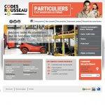 Codes Rousseau Particuliers Website
