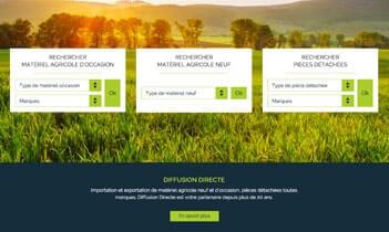 Diffusion directe website