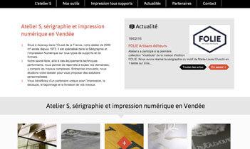 Atelier S Website